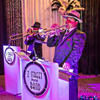 Gatsby Band, 20s Band, Prohibition Band, Z Street Speakeasy Band, Florida,Orlando, Tampa, Sarasota, Saint Petersburg, Clearwater, Ybor City,Palm Beach, Marco ISland, Fort Lauderdale, Bradenton, Winter Park, Vero beach, Amelia ISland, Wesley Chapel. Central Florida, Fort Myers, Ocala, Brooksville