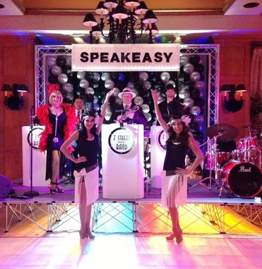 www.gatsbybandfloria.com, Gatsby band Charleston, South Carolina, Swing, Speakeasy, Roaring 20's, Vintage