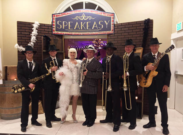 Orlando's favorite Gatsby Band - Z Street Speakeasy Band